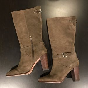 COACH Beverly Calf Suede Boots